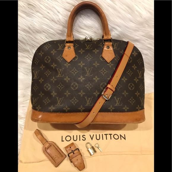 39b7fa93577b Louis Vuitton Handbags - Authentic Louis Vuitton Alma Tote  8.6B